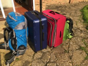 Living abroad - our luggage for 6 months in Thailand