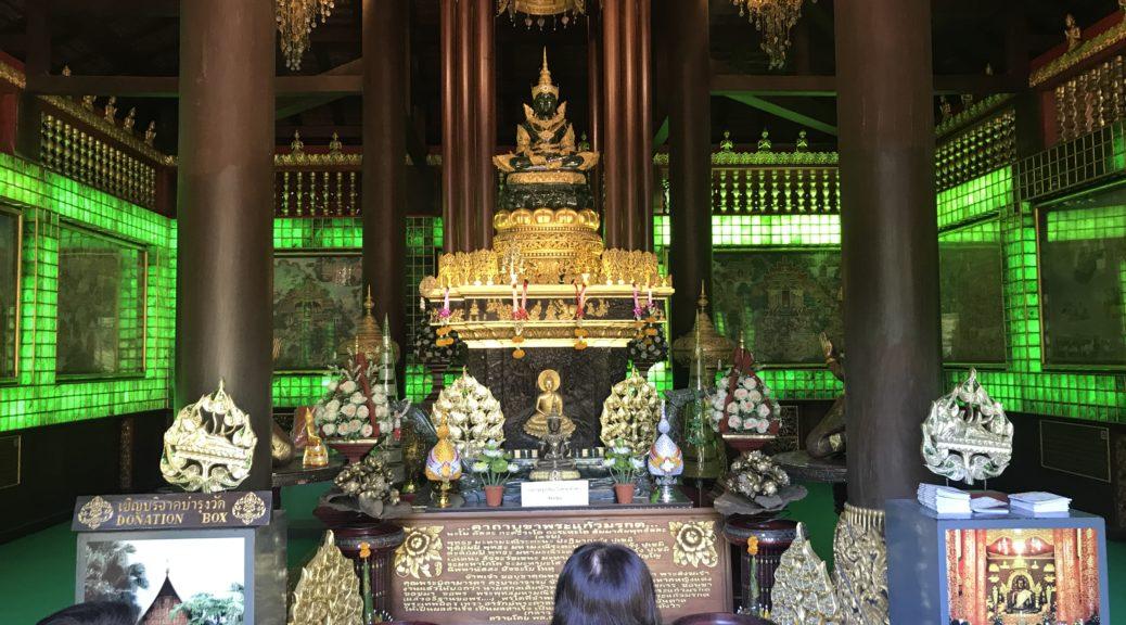 Jade Buddha - inside Wat Phra Kaeo
