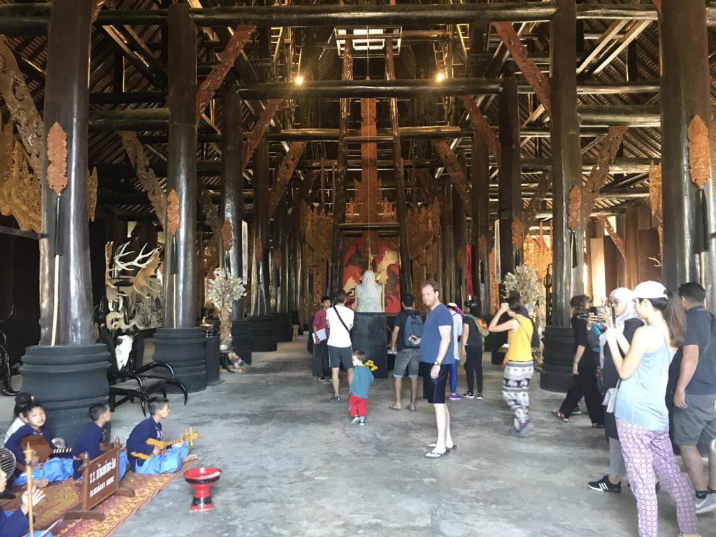 Inside the Black House Chiang Rai