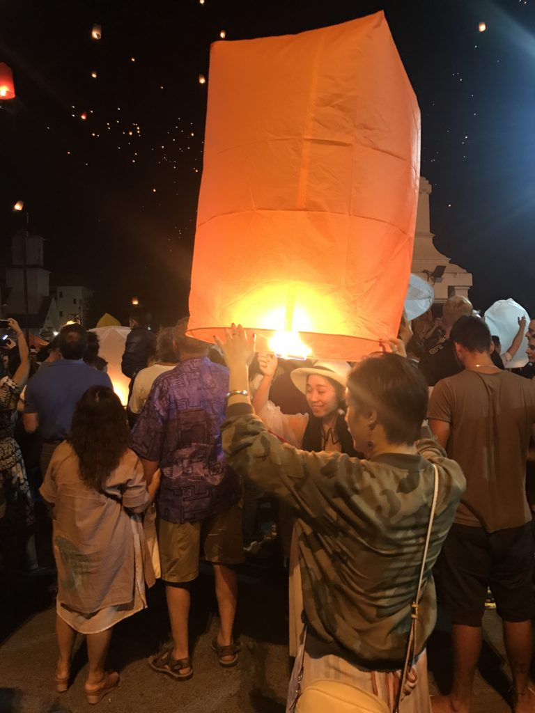 Yee Peng Festival Sky Lantern
