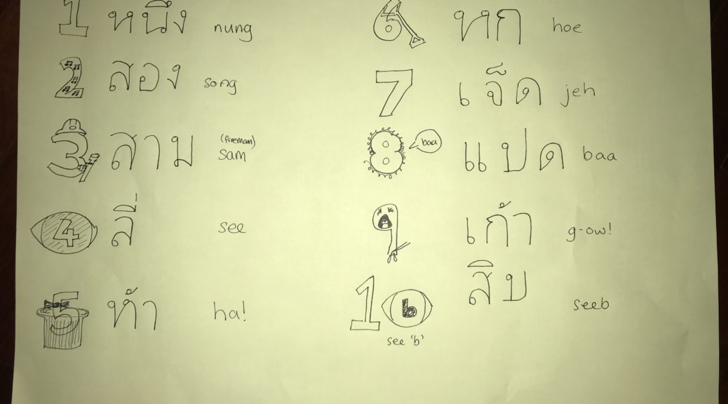 Thai numbers