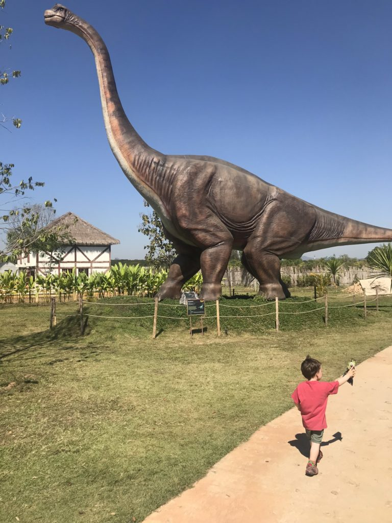 Brachiosaurus in the Dinosaur Park