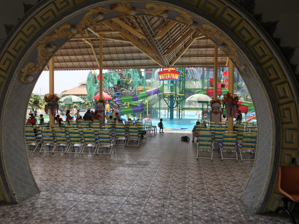 Waterpark at Suoi Tien